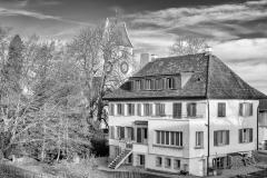 Reformierte Kirche und Pfarhaus
