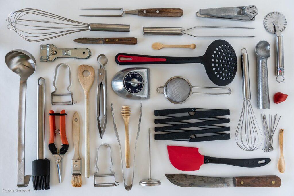 Legebild: Inhalt meiner Küchenschublade